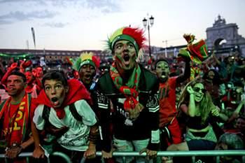 Euforia da seleção em Portugal e no mundo