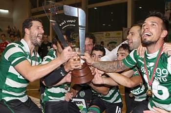 Sporting vence Supertaça de hóquei