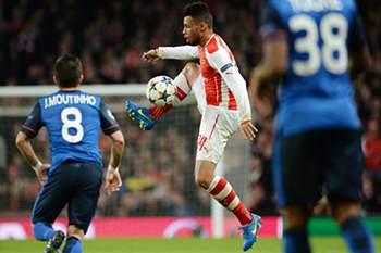 LC 2014/15: Arsenal-Mónaco