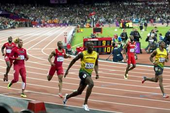 JO: Final dos 100m