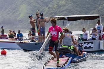 As melhores imagens da 2.ª ronda no Taiti