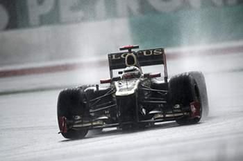 Chuva no GP da Malásia