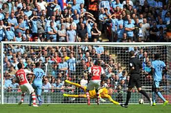 Supertaça Inglesa 2014 / Arsenal 3-0 Man City
