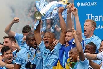Manchester City campeão 2013/2014