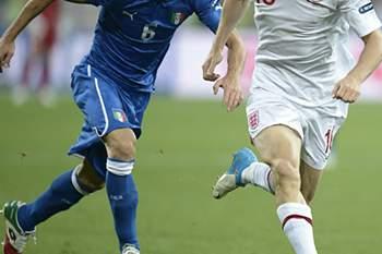 QF: Inglaterra-Itália