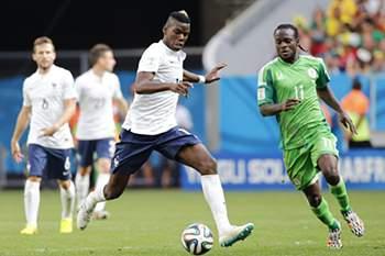 Mundial2014: França-Nigéria