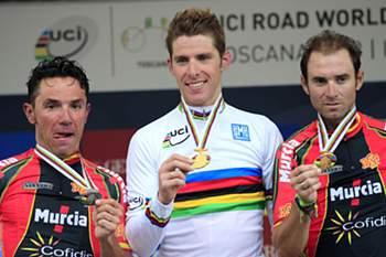 Rui Costa, campeão do Mundo de Ciclismo