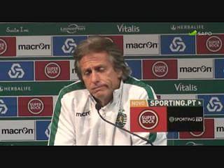 Jorge Jesus espera jogo difícil face ao Belenenses