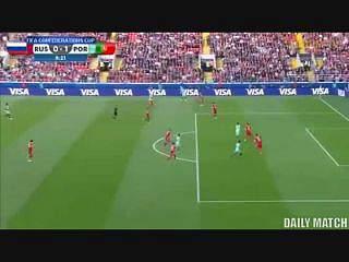 Cristiano Ronaldo marcou golo que deu vitória a Portugal frente à Rússia