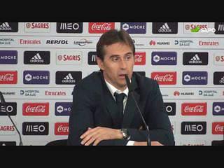 """Julen Lopetegui: """"Só o FC Porto é que quis ganhar"""""""