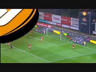 Liga (6ªJ): Resumo Sp. Braga 2-1 V. Setúbal