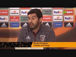 """Paulo Fonseca: """"Desejo as maiores felicidades para Benfica no jogo de hoje"""""""