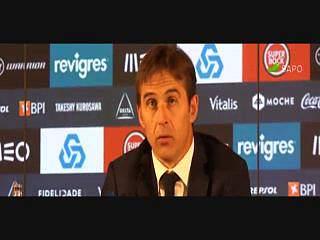 """""""Não ganhámos títulos mas fizemos coisas boas"""", diz Lopetegui"""