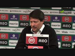 """Paulo Sérgio: """"A equipa cometeu um erro"""""""