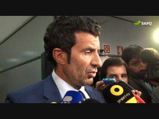 """Luís Figo: """"Benfica? Normalmente quem está em primeiro é porque merece"""""""