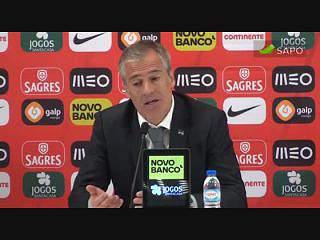 Rui Águas: Tivemos a sorte que nos faltou no CAN2015
