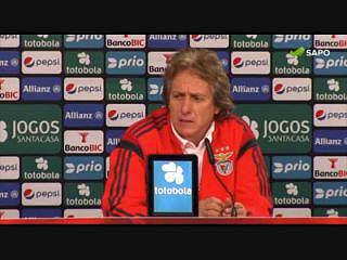 """Jorge Jesus: """"Tivemos muita qualidade até ao 3-0"""""""