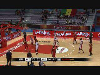 Afrobasket2015: Angola 83-63 Egito