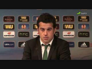 """Marco Silva: """"A bola não quis entrar"""""""