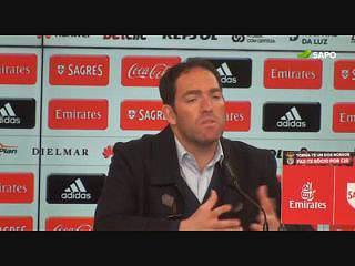 Ricardo Soares: Elogios ao Benfica e o porquê de não ´meter o autocarro`