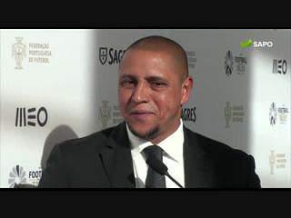 Roberto Carlos não esquece o 'amigo' Luisão na hora de elogiar Ederson e Jonas