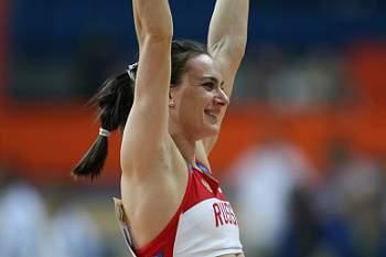 Isinbayeva regressa à competição