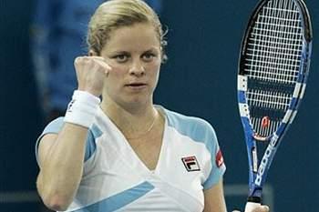 Henin e Clijsters na final