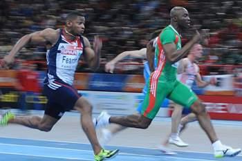 Obikwelu ficou em segundo nos 100 metros