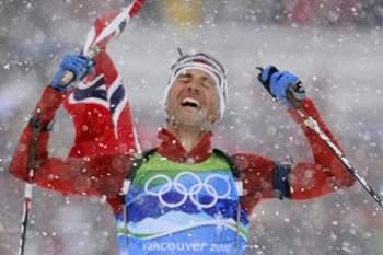 Canadá ascende ao topo no dia de Bjoerndalen