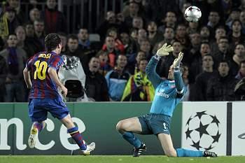 Show de Messi coroado com um 'poker' brilhante