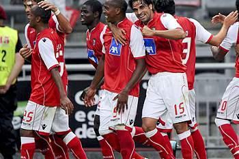 Braga em busca do 'play-off' milionário