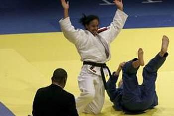 Yahima Rodriguez afastada na primeira ronda