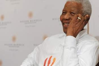 Mandela e Graça Machel surpreendidos com maior aula do mundo