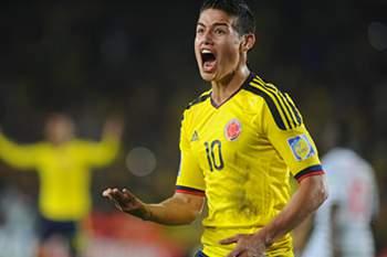 James e Guarin convocados para jogos com Venezuela e Argentina