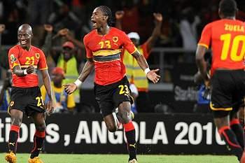 Angola a um ponto dos quartos-de-final