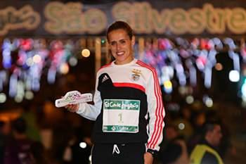 Dulce Félix venceu os homens na São Silvestre de Lisboa