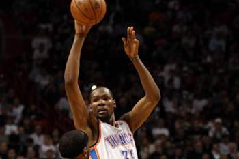 Kevin Durant nomeado MVP da NBA em 2013/14