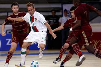 """Europeu de futsal """"ainda não acabou"""" para Portugal"""