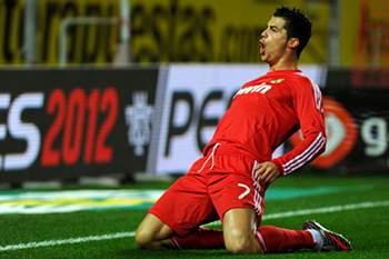 Ronaldo quer acabar carreira na Luz