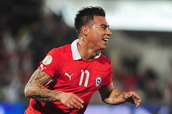 Eduardo Vargas apontado ao Benfica