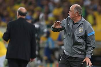 Scolari teve ajuda de Portugal para vencer Espanha