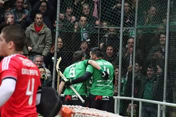 Benfica e Valongo passam aos 'quartos' da Liga Europeia