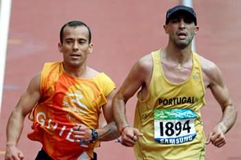 Gabriel Macchi sexto na maratona