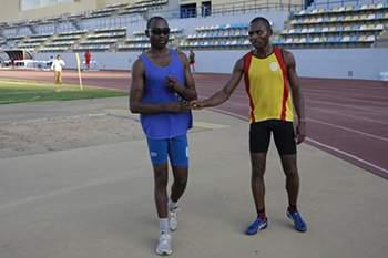 A corrida juntou dois campeões, mas o vencedor foi Angola