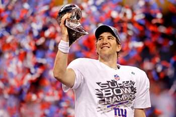 Giants voltam a reinar no Super Bowl