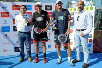 Juan Martín Díaz e Fernando Belasteguin vencem Open de Lisboa