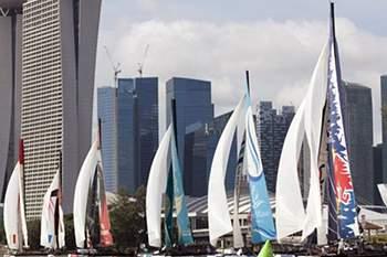 Porto acolhe etapa da competição Extreme Sailing