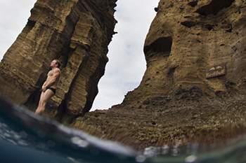 Açores fora do calendário de provas do Red Bull Cliff Diving em 2014
