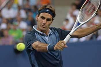 """Roger Federer continua na rota das """"meias"""""""