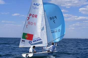 Portugueses passam ao grupo de ouro nos Europeus de RSX e 49er
